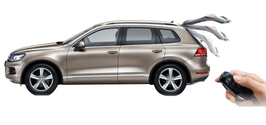 What is a power liftgate on a car?